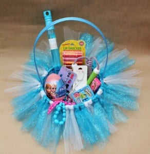 Frozen Easter Baskets – Tutu Style!