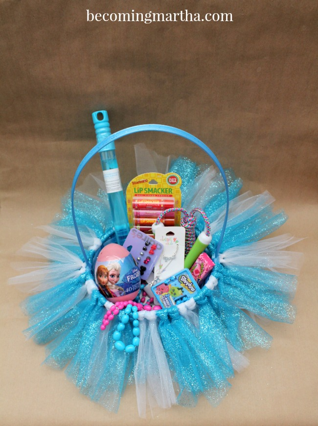 Frozen Easter Baskets – Tutu Style!