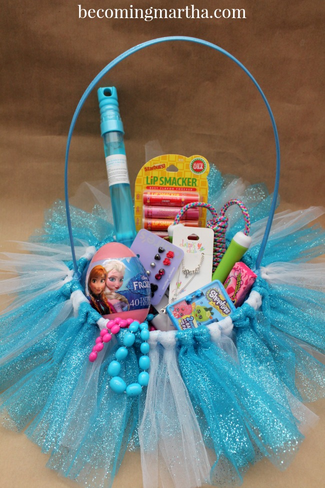 Frozen Easter Baskets Tutu Style The Simply Crafted Life