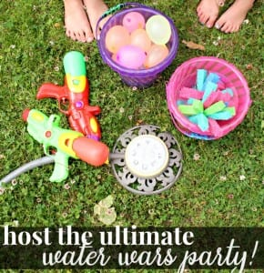 Summer Adventures – Host the Ultimate  Water War