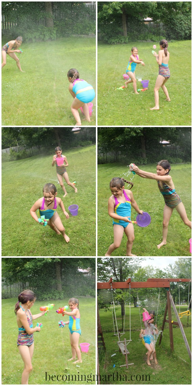 Summer Adventures: Host a Water War in your own backyard with these fun and simple tips... like don't forget the sunscreen!