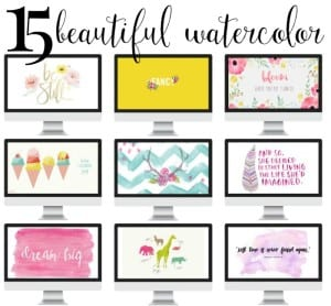 15 Beautiful Free Watercolor Backgrounds for Your Tech