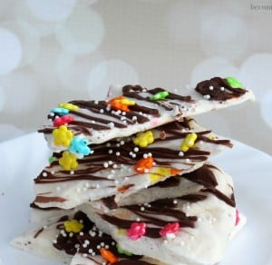 Frozen Yogurt Bark Party Snack