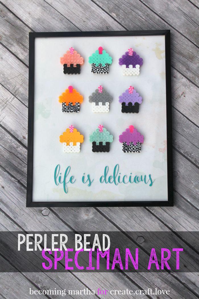 DIY Perler Bead Art