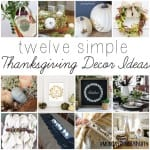 Monday Funday 11/01 + 12 Simple Fall/Thanksgiving Ideas