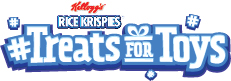 Did you know you can donate a toy to a needy child this Christmas just by making Rice Krispie treats? Upload a photo using #treatsfortoys, and $20 will be donated to the Salvation Army by Rice Krispies! Now that's a win win - a yummy snack and helping those in need!