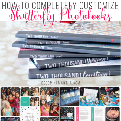 Creating Custom Family Photobooks – Part V