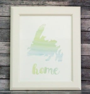 DIY Watercolor Art – An Easy and Simple Project