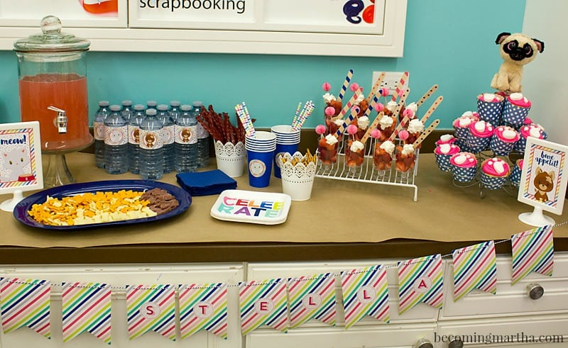 This adorable Beanie Boo birthday party was super simple and easy to plan - and hosting it somewhere like Michaels makes cleanup a breeze!