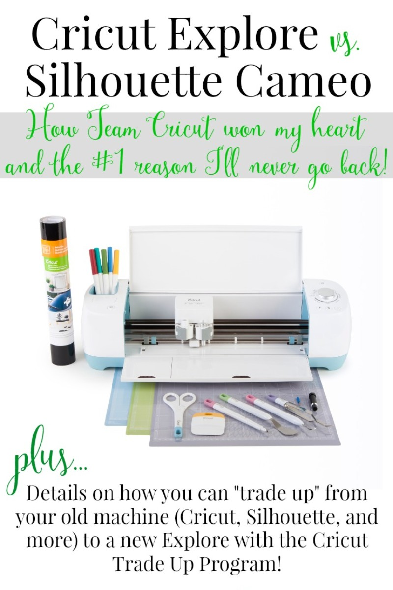 Cricut Explore vs. Silhouette Cameo: Why I Switched to Team Cricut