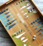 Geometric Backgammon Tray
