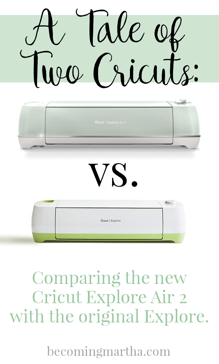 The Cricut Explore Air 2: What makes it different, how it stands up to the original Explore, and why you should upgrade this Christmas!