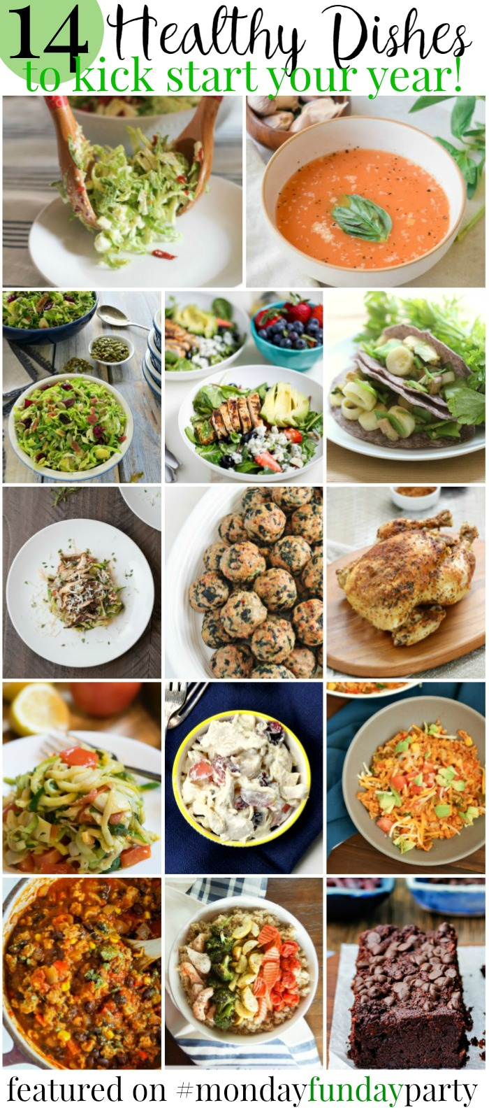 Healthy Dishes for Healthy Eating Monday Funday Liink Party