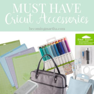 The Must Have Cricut Accessories That You Need