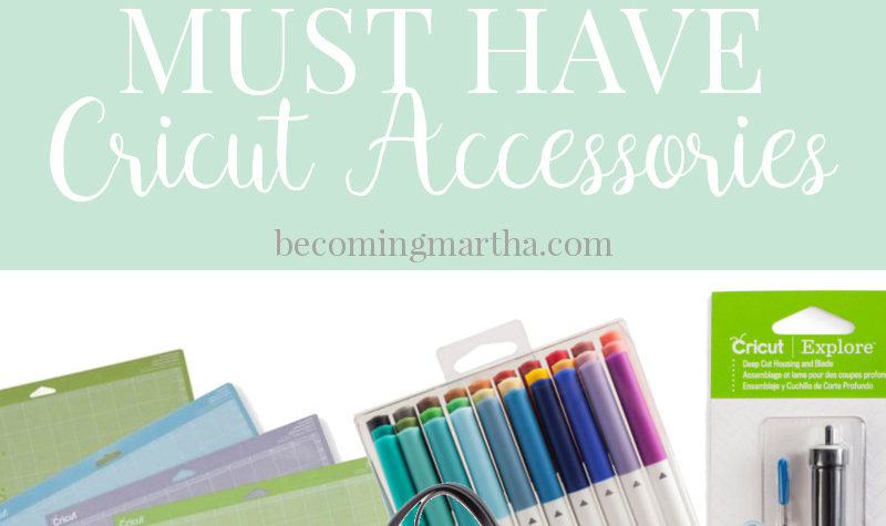 The Cricut accessories that are my must haves, and which ones will help you get even more out of your machine!