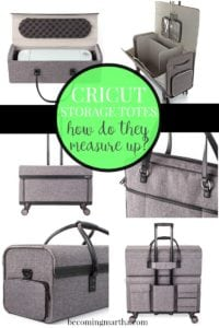 Cricut Storage Totes: How do They Measure Up?