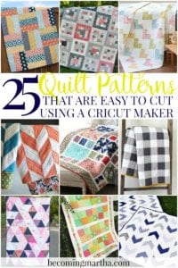 Cricut Maker Quilt – 25+ Patterns Easy to Cut with Cricut Maker