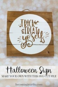 Trick or Treat Yo'self – Halloween SVG Bundle (+ Cricut Maker giveaway)