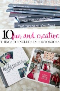Things to Include in Photobooks – 10 Fun and Creative Ideas