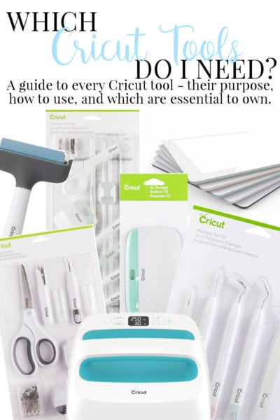Which Cricut Tools Do I Need: A Guide to the Use of Each Tool and Which You Need to Own