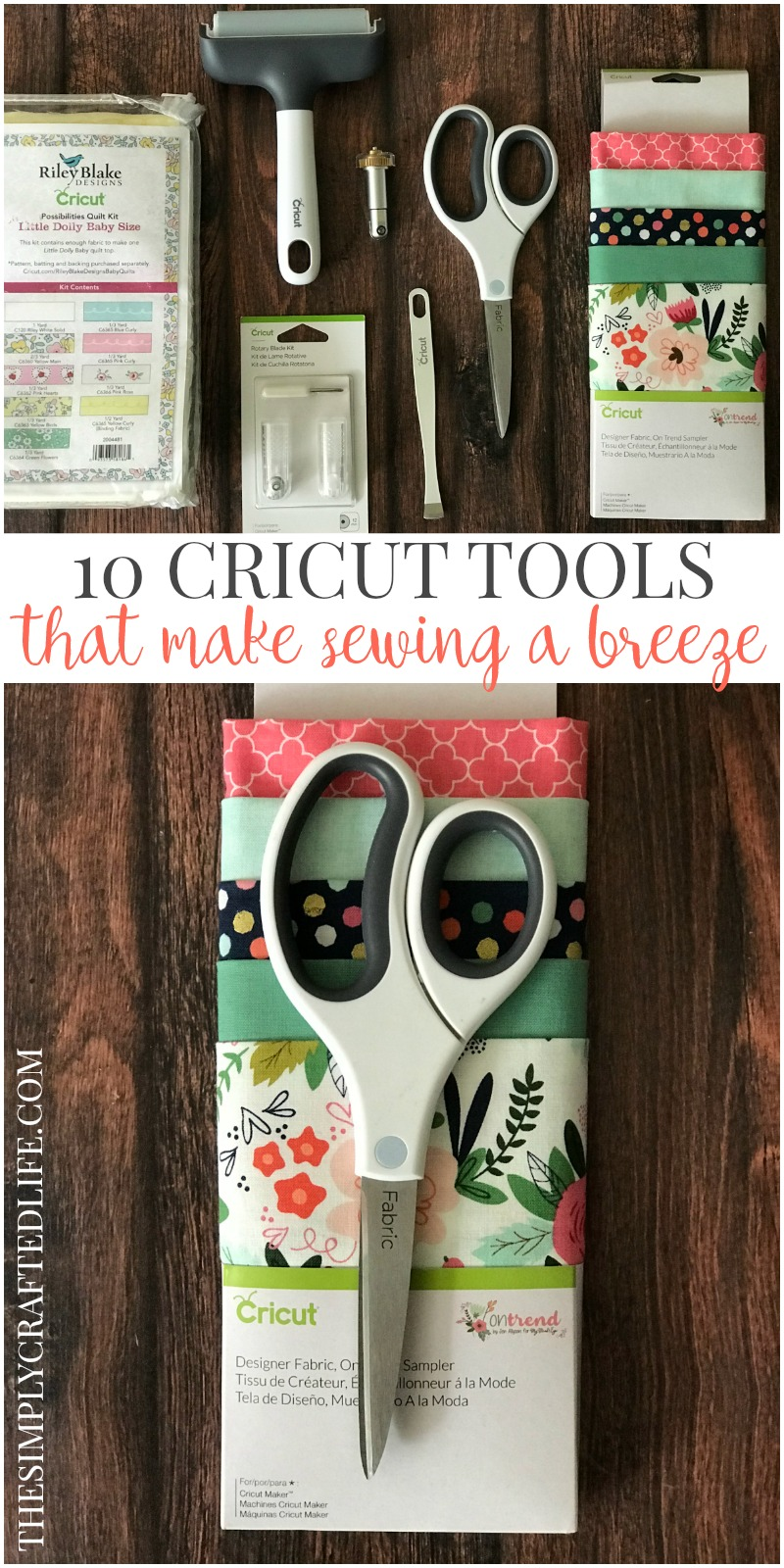 Have you seen all of the Cricut sewing tools that have been released recently? They make sewing a breeze, and this post will introduce you to all of them!