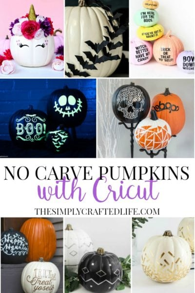 How to Decorate Pumpkins with Cricut – Over 15 Ideas for Inspiration